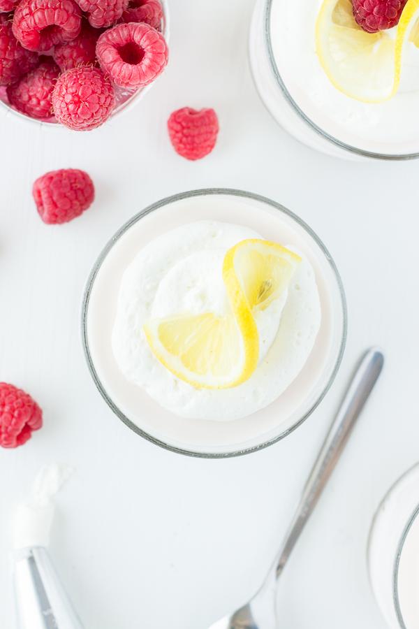 Frozen Raspberry Lemonade Desserts // bakingyum.com