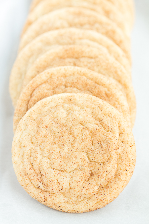 Just One Dozen Snickerdoodles (a small batch recipe!) // bakingyum.com