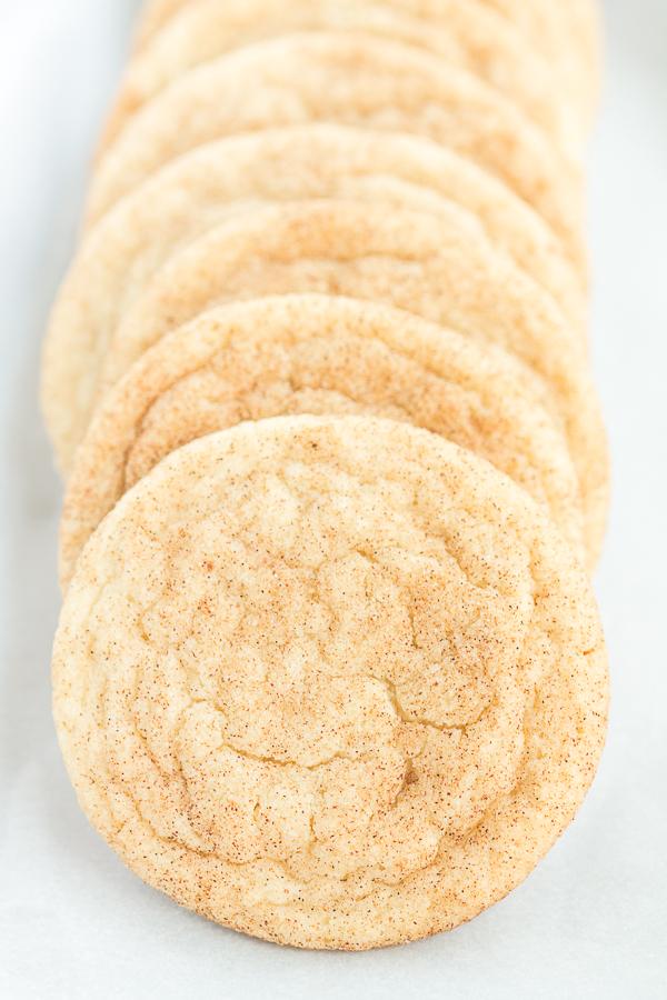 Just One Dozen Snickerdoodles (a small batch recipe!) // bakingyum.com