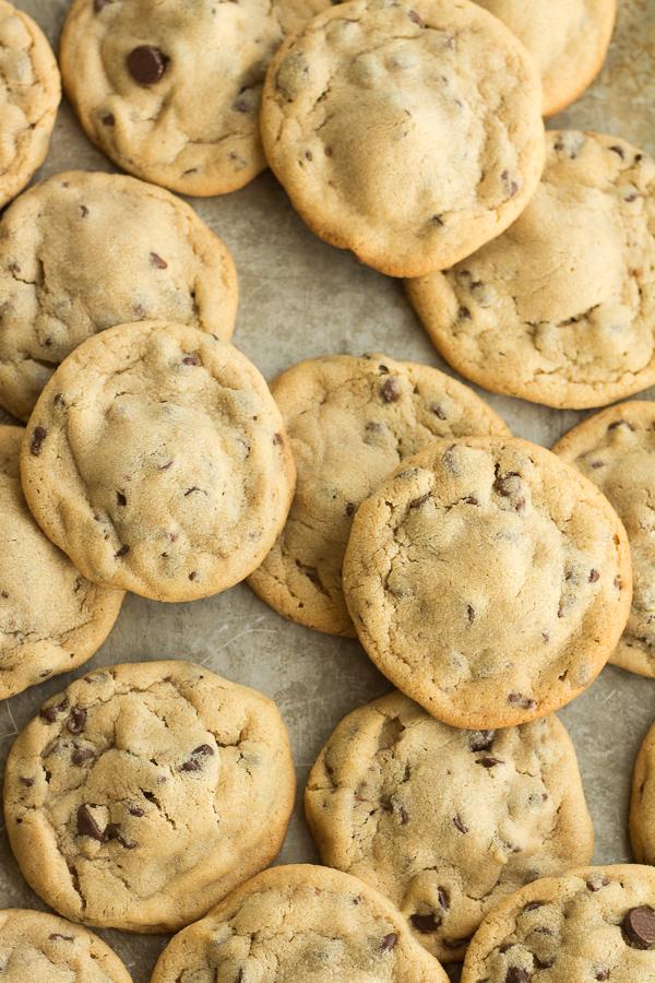 Reese's Stuffed Peanut Butter Chocolate Chip Cookies // bakingyum.com