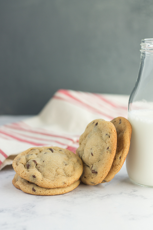 Reese's Stuffed Peanut Butter Chocolate Chip Cookies // bakingyum.com